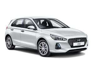 Hyundai i30 hatchback lease £853.20 down, £94.80 pm (total £2,465) for 18 months @ RVS
