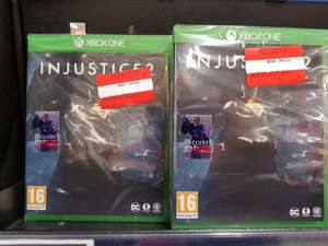 Injustice 2 Xbox One Includes Darkseid DLC only £7.50 @ Asda Instore (Linwood)