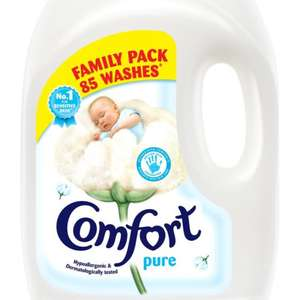 Comfort Pure - 85 washes, 3L - £2.99 instore @ SAVERS