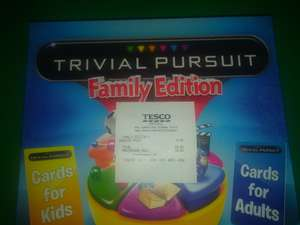 Trivial Pursuit Family Edition £9.60 @Tesco Hatfield.
