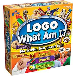 What Am I? Logo board game just for Prime Members £9.99 @ Amazon