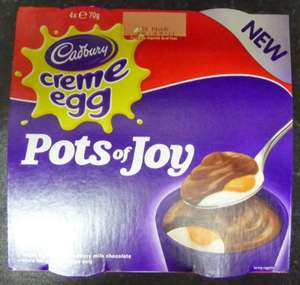 Cadbury Limited Edition Creme Egg Pots of Joy, 4x70g, only £1 @ Asda