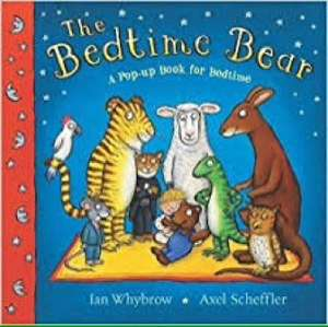 The Bedtime Bear: A Pop-up Book for Bedtime, £3.00 with Amazon Prime £4.99 delivered. 2 to 4 week delivery time.