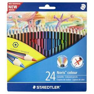Staedtler Noris Colour Pencils 24 pack £2.50 @ Tesco In-Store & Online