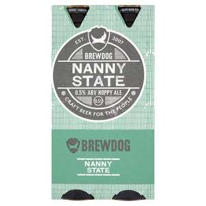 Need a beer to watch Superbowl, but working on Monday.  4 bottles of Brewdog Nanny State @ Tesco £3.60