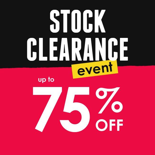 Hawkin's Bazaar Clearance 75% off