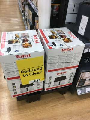 TEFAL Fry Delight Initial FX10A140 £39.99 In store Tesco Prescot