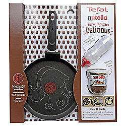 Tefal 25cm Squirrel Pancake Pan With 200g Jar Of Nutella £15 @ Tesco Direct