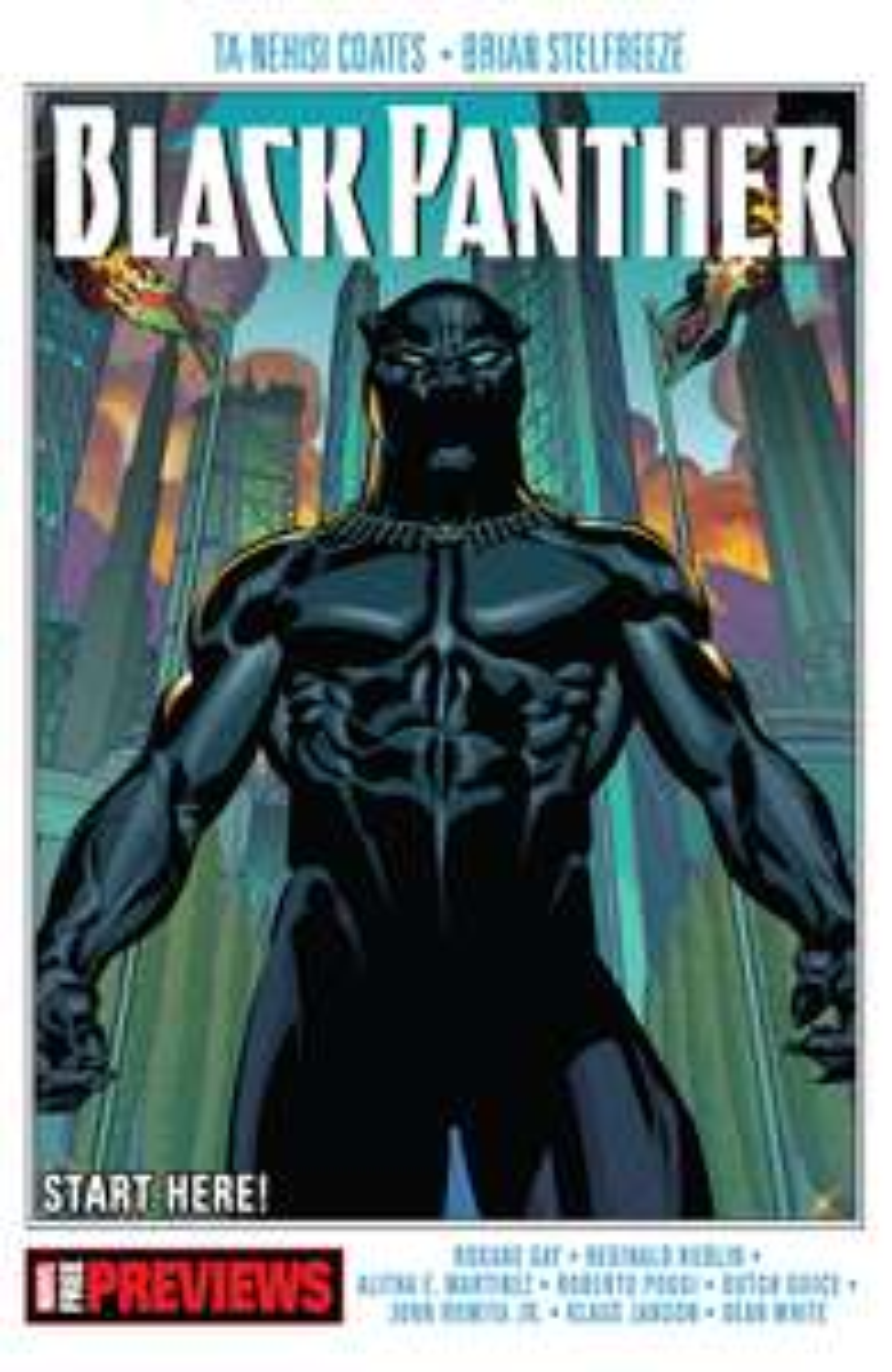Black Panther Start Here! - free e-comic @ comixology