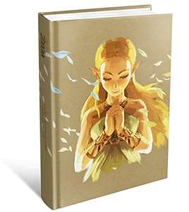 ZELDA BREATH OF THE OFFICIAL EXPANDED HARDCOVER GUIDE PREORDER at Amazon for £24.29
