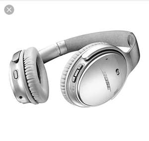 Bose QuietComfort 35 II Noise-Cancelling Full-Size Bluetooth Headphones with NFC - Black/Silver , 2 year Warranty included , free delivery at Peter Tyson for £279