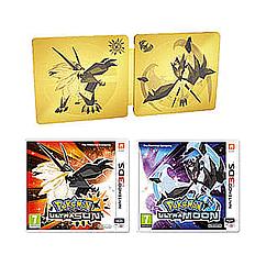 Pokemon Ultra Sun and Pokemon Ultra Moon: Ultra Dual Edition NEW £59.99@game.co.uk
