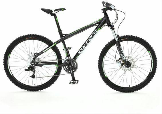 "Carrera Vulcan Mens Mountain Bike - 16"", 18"", 20"" Frames at Halfords for £296"