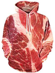 Bacon Hoodie! Was £32, now £12.08 from Gamiss