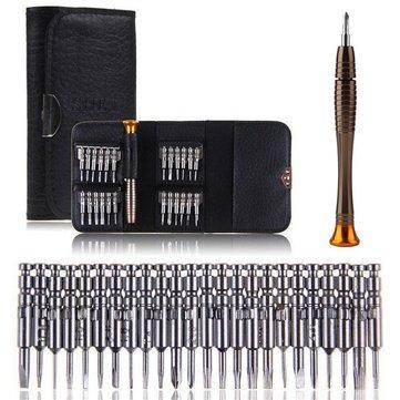 25 in 1 Multi-purpose Precision Screwdriver Wallet Set Repair tools £2.58 - Banggood