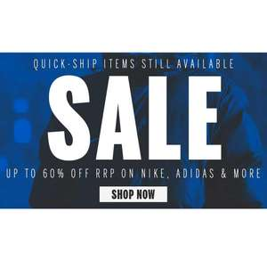 Sale Event @ Kitlocker.com - Up to 60% off Nike, Adidas & Canterbury
