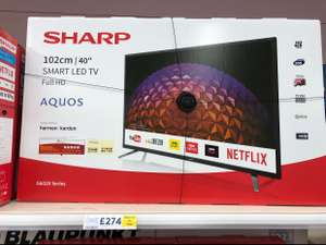 Sharp LC-40CFG6021KF 40-INCH Full HD 1080p LED Smart TV with Freeview Play £274 instore @ Tesco Elmers End