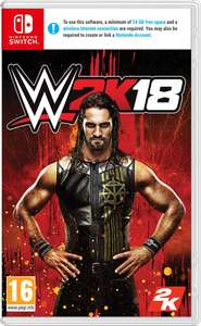 WWE 2K18 Nintendo Switch £19.85 @ Shopto