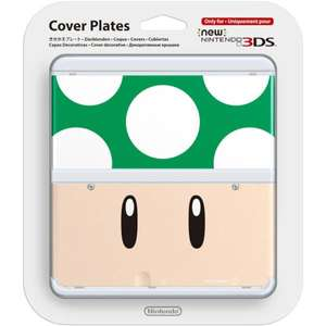 Various new 3ds coverplates 1up £3.50 + free p+p @ coolshop