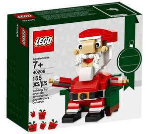Lego model 40206 Santa 155 piece set age 7+, reduced now £5.99 @ argos