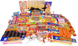 Retro sweet hamper - £49.99 to £11.99 + £1.99 delivery @ Groupon