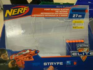 Excellently reduced Nerf  stryfe product £11 @ Tesco - Warrington