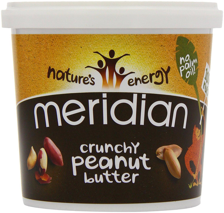 Meridian Crunchy Peanut Butter 1kg for £5 at Asda