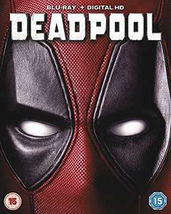 Deadpool 1 disc blu-ray £5.32 Prime / £7.31 Non Prime @ Amazon