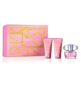 Versace Bright Crystal Eau de Toilette 50ml Gift Set £24.75 @ Boots - Free Click & Collect