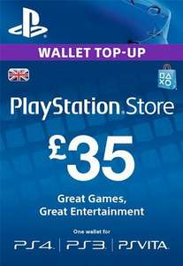 £35 PSN Credit for £29.35 @ Electronic First