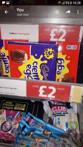 Rs.mcolls 5x creme eggs £2