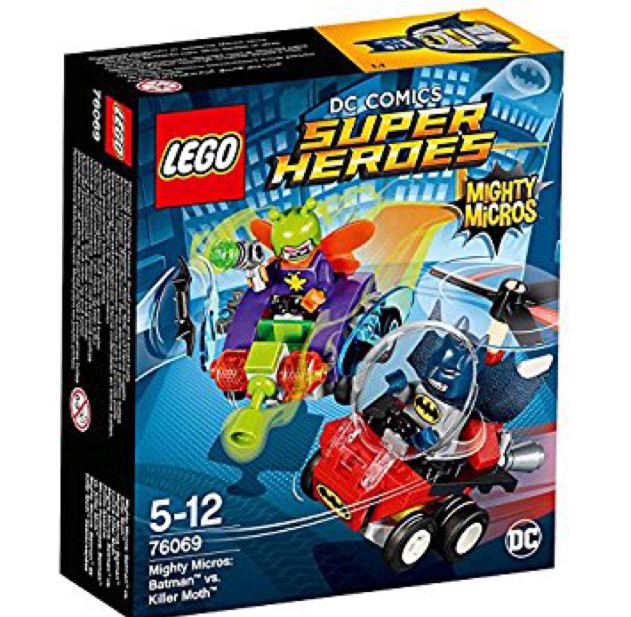Lego 76069 - DC Comics Super Heroes Mighty Micros: Batman vs.Killer Moth £4.50 @ Sainsbury's instore