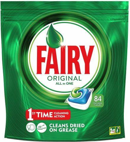 Fairy OriginalAll in One Dishwasher Capsules (84 pack) - £9 @ ASDA