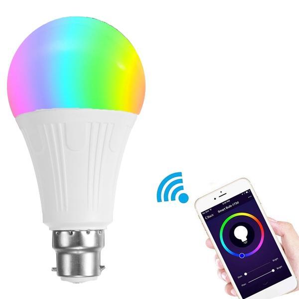 RGBW Smart bulb B22 (works with Alexa/Google Home) - £6.89 @ Banggood