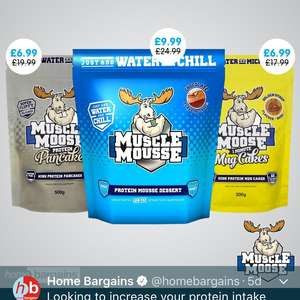 Muscle Mousse - £6.99 instore @ Home Bargains