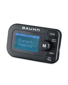Bauhn FM ,DAB+ & Car handsfree Bluetooth 4.2 transmitter Aldi free delivery £34.99