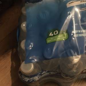 40 x 500ml bottles of spring water - £2.70 instore @ Costco
