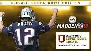 Madden 18 GOAT superbowl edition ps4 - £19.99 @ PSN