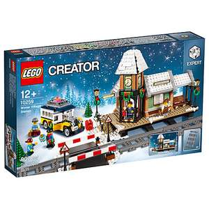 ('Retired') LEGO Creator 10259 Winter Village Station + bonuses - £74.99 @ John Lewis