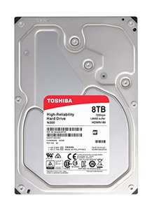 Toshiba N300 High Reliability 8TB Internal NAS Hard Drive - £200.00 @ Amazon