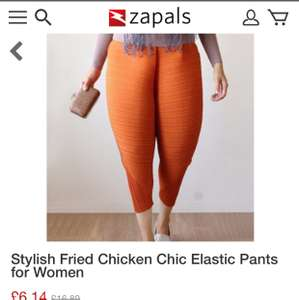Stylish Fried Chicken Chic Elastic Pants - £6.14 @ Zapals