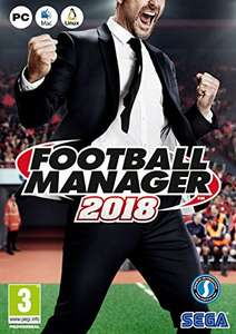 Football Manager 2018 [PC] £19.99 at Amazon (Prime Exclusive)