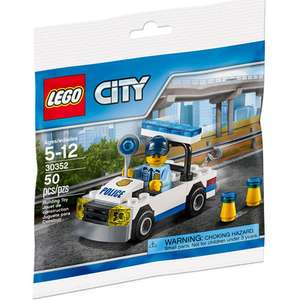 Lego city police car mini figure set 30352 was £4.99 now £1.96 @ toysrus (free C&C)