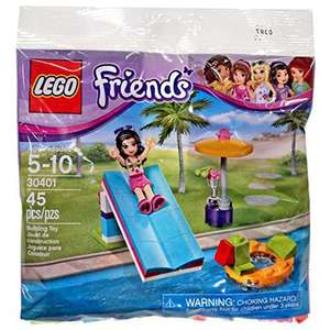Lego friends 30401 pool foam slide mini figure set was £4.99 now £1.96 @ toysrus (free C&C)