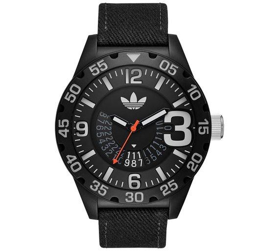 Adidas Origianls Men's ADH3157 Black Strap Watch £19.99 @ Argos