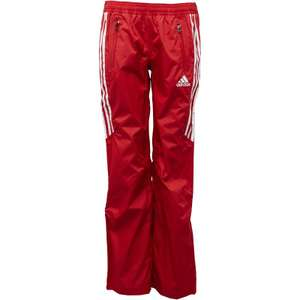 adidas Womens Full Length Rain Pants Collegiate Red. £19.48 delivered at MandM Direct