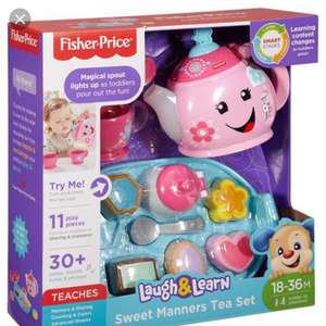 Tesco Altrincham-Fisher price sweet manners tea set £14 instore