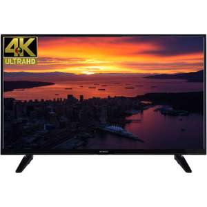 "Techwood 49AO6USB 49"" Freeview HD and Freeview Play Smart 4K Ultra HD TV - Black - A+ Rated £329 at ao.com + £50 cashback"