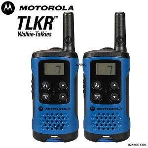Motorola TLKR T41 2 Way Walkie Talkie Gift Set PMR 446 Radio £26.44 delivered @ ozaroo uk Ebay