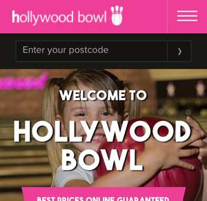 30% off Bowling at Hollywood Bowl